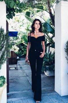 VivaLuxury in PAIGE / High Rise Bell Canyon in Black Shadow
