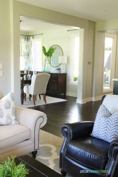 Picking The Perfect Gray Paint  Living Room Paint Colors Living Awesome Living Room Colors And Designs Decorating Inspiration
