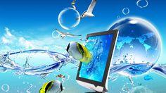 3D Desktop Wallpaper 1366x768 - WallpaperSafari