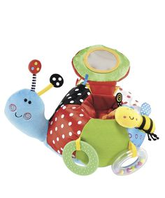 ELC Bugs Snail Activity Toy - soft toys & dolls - Mothercare