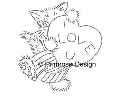 Vintage Hand-Embroidery Pattern PDF — A Year of Cats (12 Monthly Designs)
