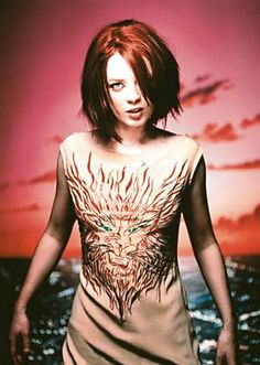 I <3 Shirley Manson's haircut from here.