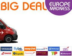 The Weekend Dream - Europe Madness - Big Deal OUT!!! More value for money deals http://www.travahoo.com/newsletter/theweekenddreameurope/ Click for the best deals available!