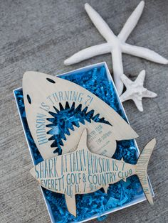 Shark Invites by Har