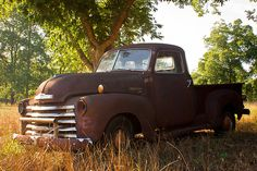 I want an old truck like this so bad.