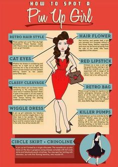 How To Spot A Pin Up Girl