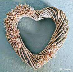 Beach Wreaths, Beach Themes, Grapevine Wreath, Grape Vines, Hearts, Fall, Flowers, Decor, Autumn