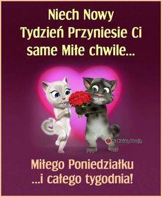 Niech Nowy Tydzień Przyniesie Ci same. Image Fb, Good Morning Happy, Motto, Humor, Movie Posters, Pictures, Aga, Night, Disney
