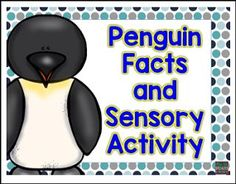 "FREE SCIENCE LESSON - ""Penguin Facts and Sensory Activity"" - Go to The Best of Teacher Entrepreneurs for this and hundreds of free lessons.   Pre-Kindergarten - 6th Grade   http://www.thebestofteacherentrepreneurs.org/2016/12/free-science-lesson-penguin-facts-and.html"