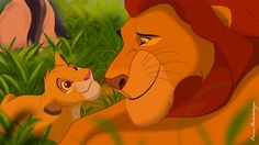 *SIMBA & MUFASA ~ The Lion King,.....How I met your mother by isuru077