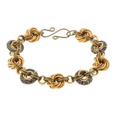 Gold Dust Inspiral Kit by Weave Got Maille | Fusion Beads