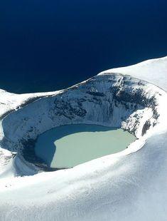 víti crater in askja, iceland