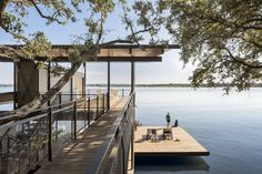 Lake|Flato Architects - Project - BLUE LAKE RETREAT