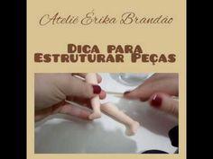 Ateliê Érika Brandão- Dica de estrutura para peças - YouTube