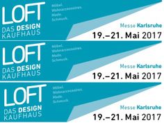 Vom 19. bis zum 21. Mai 2017 ist die LOFT 2017 in der Messe Karlsruhe. Wir freuen uns sehr darüber, dort vertreten zu sein! Weitere Infos und Tickets findet ihr unter https://www.loft-designkaufhaus.de 😇 Über euer Erscheinen freuen wir uns!😋 #allyouneedisloft