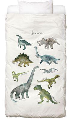 Dinosaurs als Kinderbettwäsche von Amy Hamilton | JUNIQE
