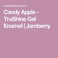 Candy Apple - TruShine Gel Enamel | Jamberry
