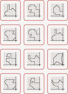 Lernstübchen: Drehsymmetrie - Arbeitskärtchen