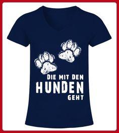DIE MIT DEN HUNDEN GEHT - Shirts für freundin (*Partner-Link)
