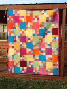 stippling quilt-this would be a good pattern to use with Kaffe prints.