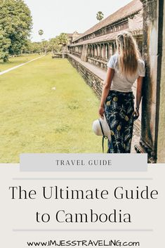 Planning a trip to Cambodia? This Cambodia travel guide gives you tips and helps with the basics to plan your trip with ease and get the most out of your time. Wanderlust Travel, Asia Travel, Travel Usa, Croatia Travel, Hawaii Travel, Italy Travel, Cambodia Itinerary, Cambodia Travel, Travel Guides
