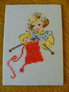 petite tricoteuse de Roselyne