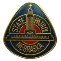 """Nebraska State Police Pin 1"""" by FindingKing. $9.50. This is a new Nebraska State Police Pin 1"""""""