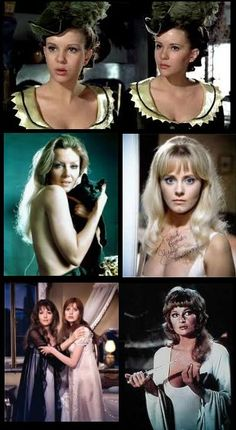Celebrating the beautiful Female Leads of Horror Movies and TV Series: A collection of Hammer Horror Beauties.