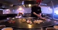 Hibachi Grill | How to Make Hibachi Vegetables? - Cookeryaki Hibachi Steak, Japanese Steakhouse, Blackstone Grill, Teppanyaki, Korean Food, Grilling Recipes, No Cook Meals, Ninja