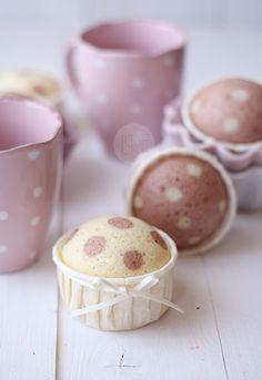 'Polkadot' muffins