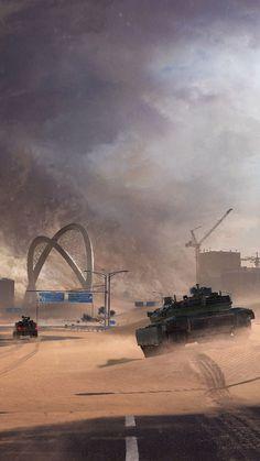War Tanks Battlefield 2042 4K Ultra HD Mobile Wallpaper. Mobile Wallpaper, Video Game, War, Wallpapers, Tanks, Cities, Wallpaper For Phone, Wallpaper, Video Games
