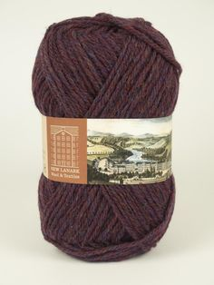 New Lanark Aran Wool, Bramble #knitting #knit #wool#handknitting #newlanark#scotland #scottish #aran#100%wool #purewool