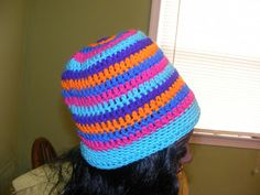 "Basic Hat Pattern: Basic Hat Pattern Version 90-B ""Diamonds of Praise"" © Charity Hat Pattern"