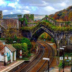 Conwy Train Station #conwy
