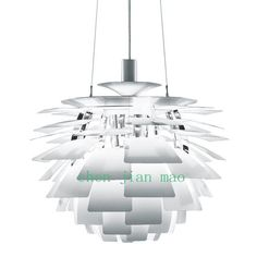 """The Poul Henningsen Artichoke lamp is one of my favourites. Its not even that expensive at only USD315. But beware """"price don't include bulb""""."""