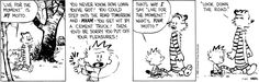 Calvin and Hobbes - motto