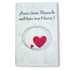 """Mutter-Kind-Pass Hülle Österreich """"Aus dem Bauch mitten ins Herz!"""" Goldi-Design http://www.amazon.de/dp/B00SFAD7NE/ref=cm_sw_r_pi_dp_blQjwb0SW43D7"""