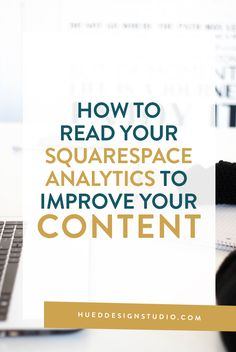 When it comes to improving your content and connecting with your audience, having anunderstanding of your analytics panel is a NECESSITY. Learning how to take those numbers and use them to guide what topics that you should and probably shouldn't write about will keep you and your visitors happy.