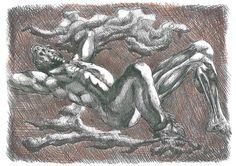 """""""La creación"""". 2012. Rotrin y boli."""