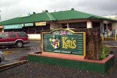 Ken's House of Pancakes in Hilo, HI, we ate here twice in one day