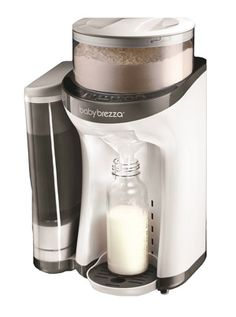 Baby Brezza Formula Pro: One Touch Baby Bottles - thank God they have invented this before I have had any babies. Lmfao #lazymotherhood