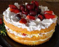 Olha que maravilha essa Torta de Frutas Frescas? Um Naked Cake bem fácil de fazer! ► Ingredientes da Massa 150g de manteiga 1 e 1/2...