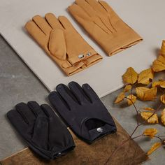 Dents Waverley Men/'s Two Tone Leather Driving Gloves BERRY//CHARCOAL