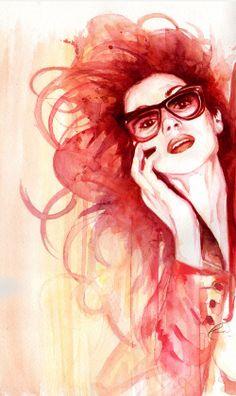 Robert Tirado   fashion illustration