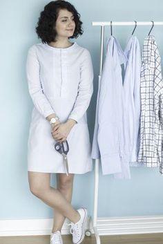 A-Linienkleid aus alten Hemden - Refashion by Tweed Great . . . . . der Blog für den Gentleman - www.thegentlemanclub.de/blog