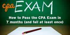 The CPA exam is hard, really hard.   But just because it's hard doesn't mean you can't pass, and quick.   When I took the exam, I was determined to pass in 6 months, it took me 7, and I failed one section, audit.   Funny enough, that was the type of worked I went on to do… More →