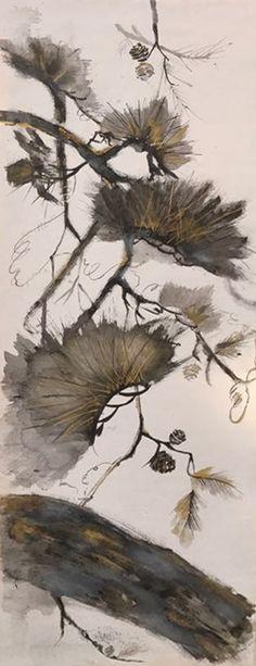 Pınar Kuseyri / Japon Sanat Merkezi Sumi-e Atölye Çalışması