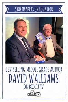 KidLit TV StoryMakers On Location with author David Walliams sharing about the book  Demon Dentist