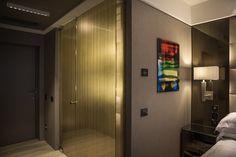 PORTFOLIO: HOTEL CAVOUR: Room; Architectural project of interiors of Premium rooms