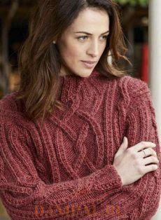 Вязаный свитер для женщин «Hawksmoor» | DAMские PALьчики. ru